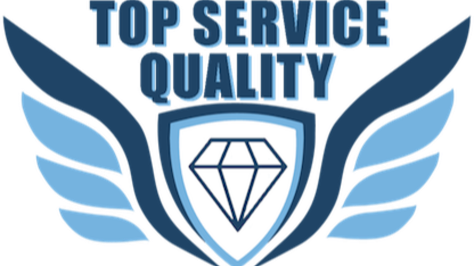 Top Service Quality Badge